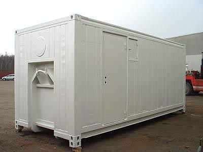 20ft Fraktcontainer Scanjack