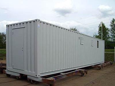 40ft Ställverkscontainer