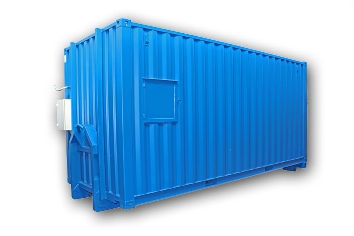 20ft Container med dieseltank