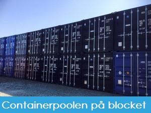 Blocket butik - Containerpoolen på blocket