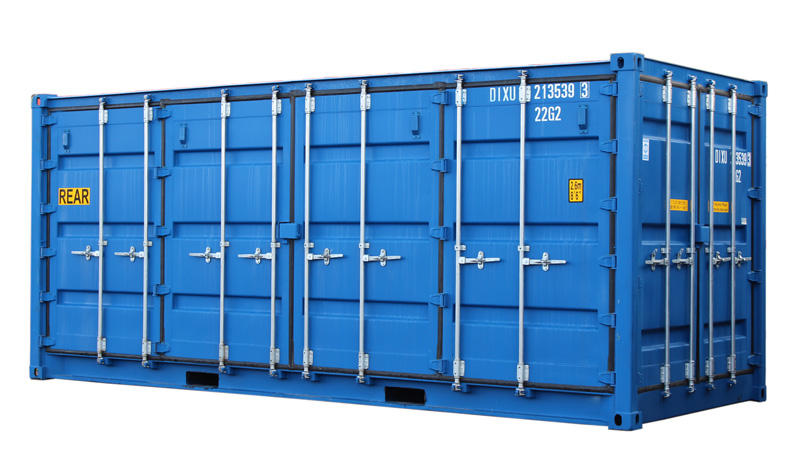 20ft Fraktcontainer Openside DD