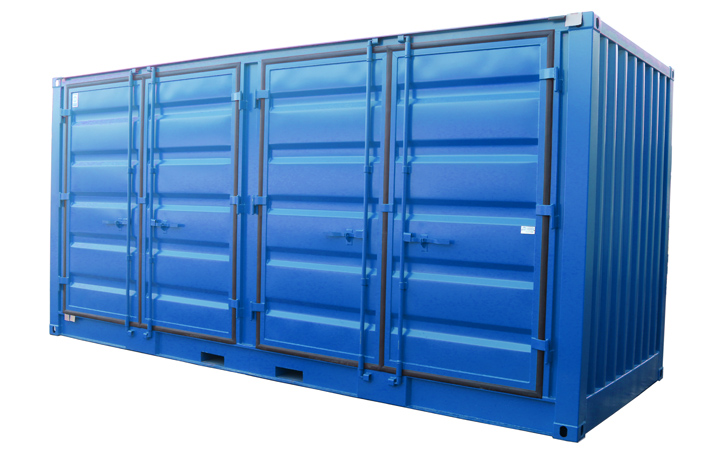 20ft Miljöcontainer DD Sip