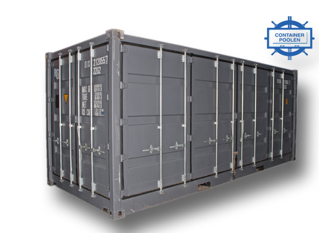 20ft Openside fraktcontainer