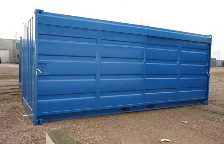 20ft Miljöcontainer OS skjutdörrar