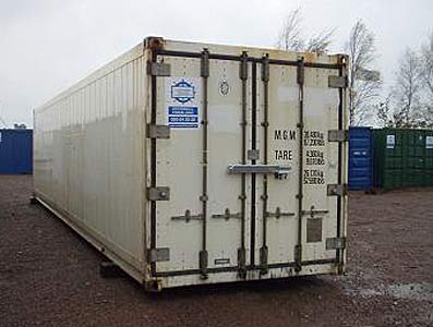 40ft Isolerad fraktcontainer