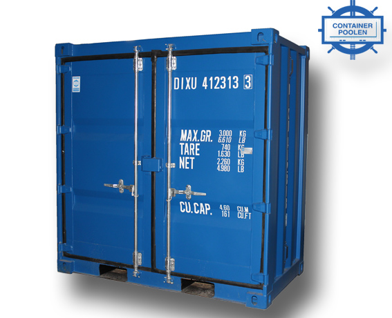 4ft Miljöcontainer cortenstål