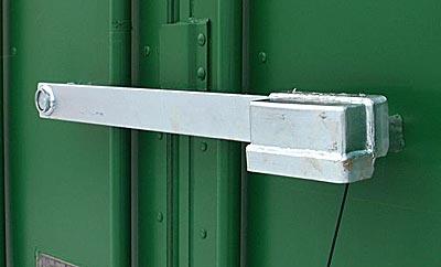 Containerlås låsbom plattjärnsbom
