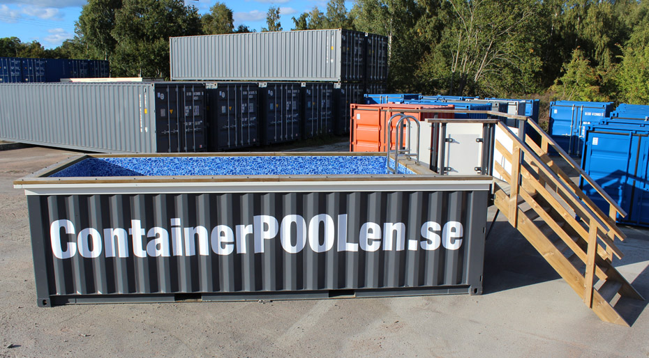 20ft Poolcontainer