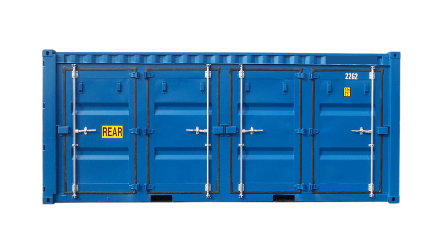 20ft Fraktcontainer Openside 4D