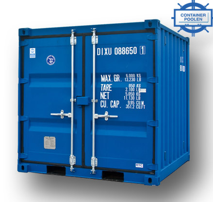 8ft Fraktcontainer