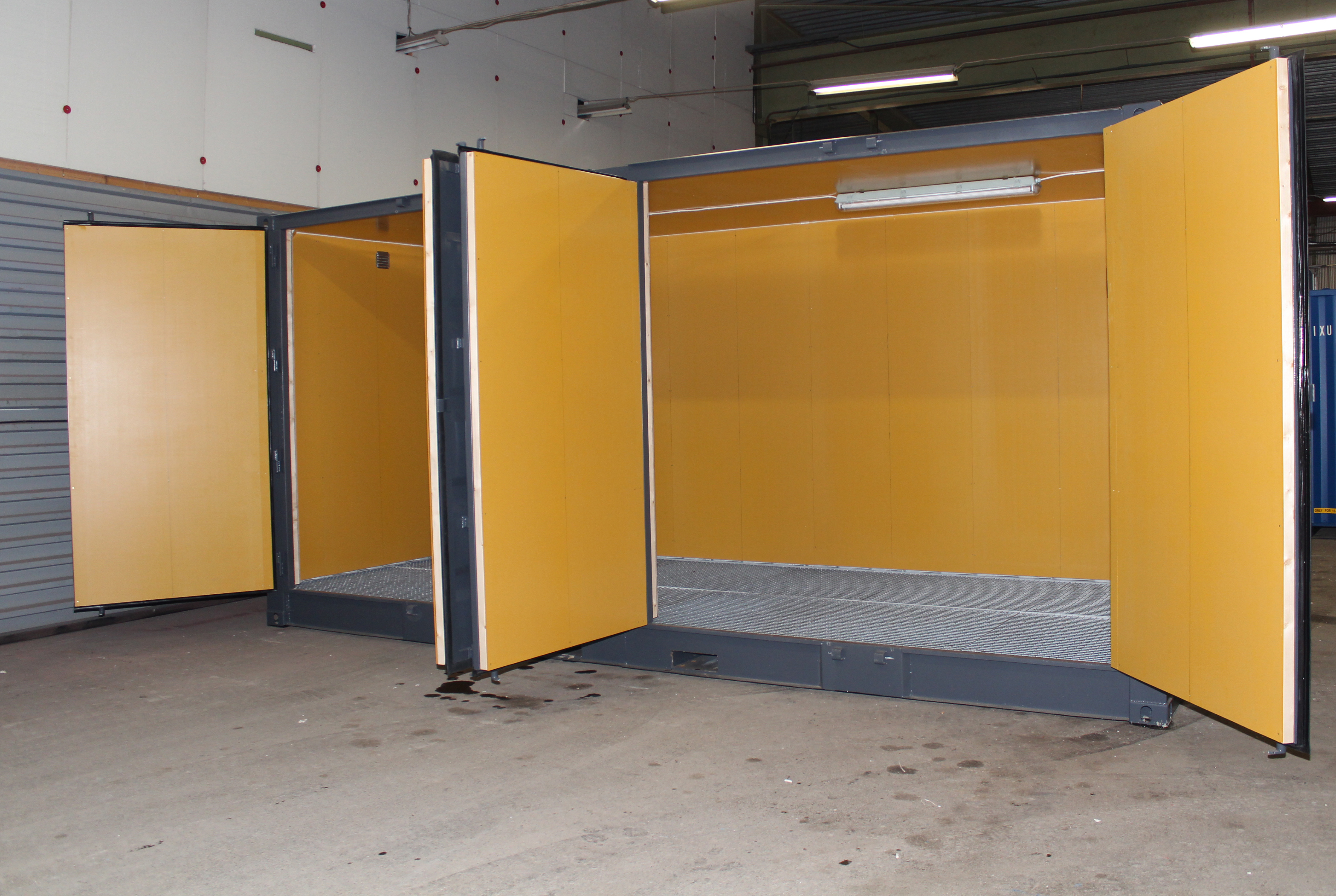 20ft Miljöcontainer isolerad formplyfa