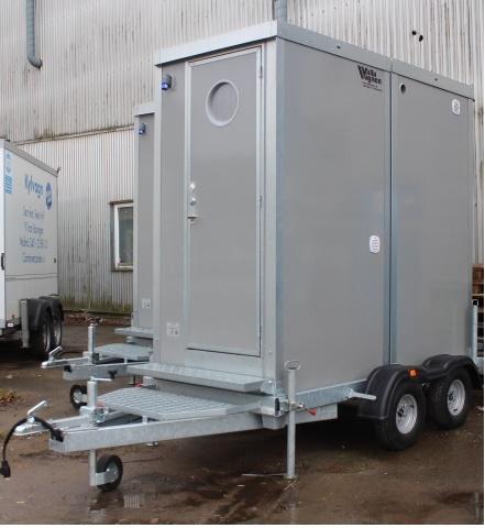Toalettvagn ST500 Dubbel